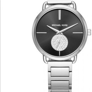 Silver Stainless Michael Kor's Watch